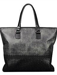 telas impermeables con negocios de cuero genuino diseño único negro maletines mensajero originales únicas bolsas de hombro