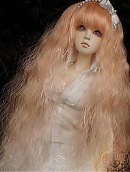 """Tita 1/3 8-9 """"dal msd pullip bjd sd luts souper dollfie poupée longue perruque orange,"""