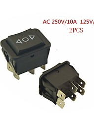 Universal Car 6 pin on-off-on interruttore momentaneo ac 250v / 10a 125v / 15a