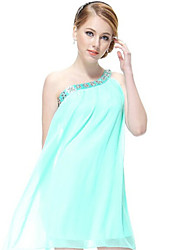 Women's Asymmetrical Dresses , Chiffon Vintage/Sexy/Casual/Party Sleeveless YaYiGe