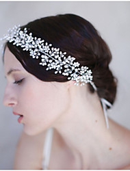 Women's Pearl Headpiece-Wedding / Special Occasion Headbands 1 Piece White