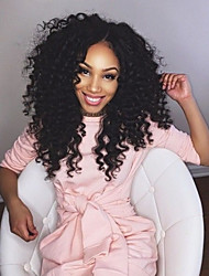Brazilian Virgin Hair kinky Curly Full Lace Wig Glueless full lace wigs