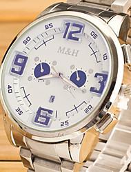 Orologio da uomo Relogio orologi sportivi striscia masculino 03:00 calendario zona alpinismo
