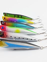 """1 pcs Cebos Corchete Colores Surtidos 15.7g g/5/8 Onza mm/4-1/4"""" pulgada,Plástico Pesca de Cebo"""
