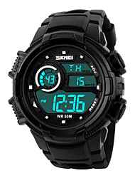 SKMEI® 30 m Waterproof, Stopwatch, Timing, Ring, Outdoor Sports Watch Wrist Watch Cool Watch Unique Watch