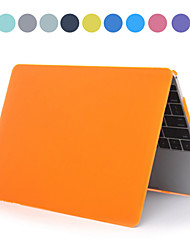 """ASLING Solid Color PC Hard Case with Crystal for MacBook 12""""(Assorted Colors)"""