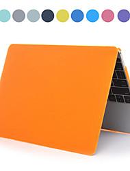 """Asling solide étui de couleur pc avec cristal pour MacBook 12 """"(couleurs assorties)"""