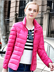 Women's Fashional 90%  Down Light Jacket