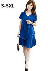 robe, occasionnel, plus taille femme