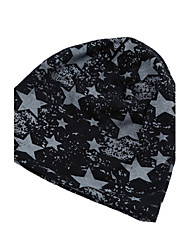 Fashion Men Women Unisex Beanie Wrap Star Print Hip-hop Hat Cap Headwear
