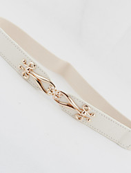 Female Models Decorative and Thin Belts,Fashion Gold Buckle