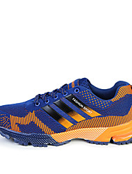 Men's Walking Shoes Tulle / Fabric Black / Blue
