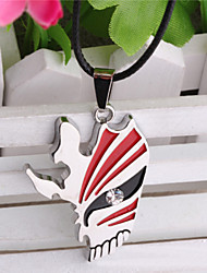 Unisex Fashion Jewelry Retro Punk Animation Cosplay BLEACH Mask Pendant Necklaces