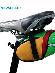 Newest Bicycle Bike Saddle Outdoor Pouch Back Seat Bag with Velcro Green