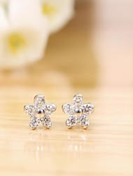 925 sterling silver earrings korean tv drama charms nail  diamond 3a cz stud earrings,mercurial superfly  branded