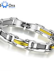 2015Hot sale High Quality Titanium steel Bracelet For Men Thick Rock Man Bracelet