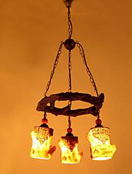 Retro Resin Table Lamp