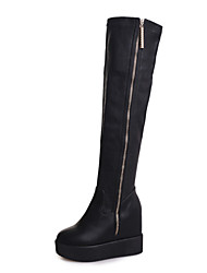 Women's  Platform Round Toe / Closed Toe Boots