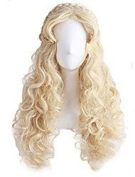 Cosplay Blonde Fashion Must-have Girl High Quality  Hair Wig