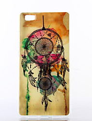 Colorful Windbell Pattern TPU Soft Case for Multiple Huawei P8/P8 Lite