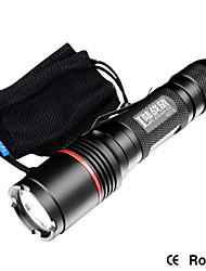 Strong Light Flashlight EC12(Top Configuration), 200 Meters