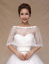2015 new white Bride Wedding dress Fitting Accessories Lace  Shawl