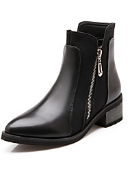 Women's Chunky Heel Pointed Toe / Closed Toe Boots