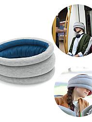 oreiller Voyage d'autruche sommeil sieste sieste coussin protecteur de cou pour le train de voiture plan (couleur aléatoire)