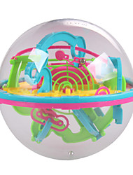 New Mini 3D Maze Magic Ball 100 Level Intellect Ball Children Education Puzzle Toys Orbit Game Intelligence Away Gift