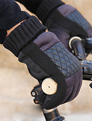 WEST BIKING® The New Autumn And Winter Male Taxi Velvet Thick Leather Gloves Warm Gloves Riding Gloves Slip