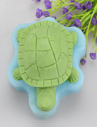 Sea Turtle Shaped Soap Molds Mooncake Mould Fondant Cake Chocolate Silicone Mold, Decoration Tools Bakeware