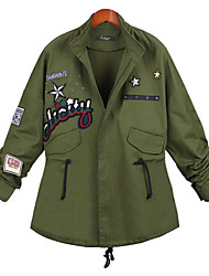 Women's Fashion Casual Vintage Casual Work Plus Sizes Jacket Coat