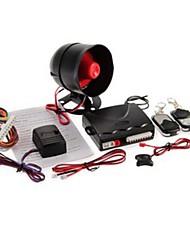 1-weg bescherming auto alarm systeem met 2 afstandsbediening