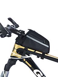 Bag quadro da bicicleta ( Preto , Nailom , 0.71 L)  Á Prova-de-Água/Á Prova de Humidade/Vestível/Multifuncional Ciclismo