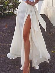 Women's   Skirts Sexy Maxi
