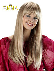 Classical Straight Blonde Wig Hot Sale Popular Synthetic Wig Cheap Wig
