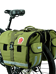 ROSWHEEL® Bike Bag 45LPanniers & Rack Trunk Waterproof / Waterproof Zipper / Moistureproof / Wearable Bicycle BagCanvas / Waterproof