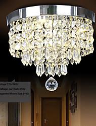 25w cristalina moderna / contemporánea / led de metal montaje empotrado dormitorio / comedor / pasillo