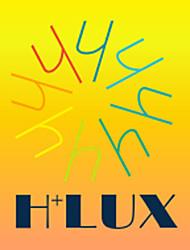 6-pack h + lux ™ cfl G45 E14 9W 400lm cri>80 2700K caldo bulbo bianco globo (AC220-240V) = 40w ad incandescenza