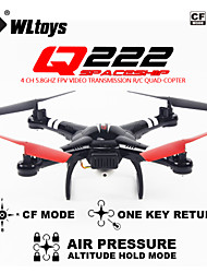 pression d'air de drone Q222 WLtoys planant attachées haut rc quadcopter rtf