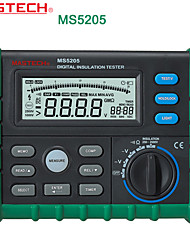 Mastech-ms5205 Professional Digital High Voltage And Insulation (250v-2500v) Output