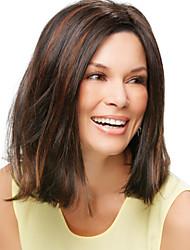 les femmes dame cheveux synthétiques Perruques courtes vente chaude