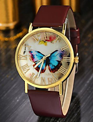 Luxury Women Leather Watch 3 styles of High-grade quartz Reloj Fashion Butterfly Style Vouge Wristwatch Relogio Feminino