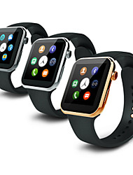 533mah mtk2502c Bluetooth 4.0 orologio intelligente (vetro zaffiro, pedometro, frequenza cardiaca, impermeabile, anti-perso)
