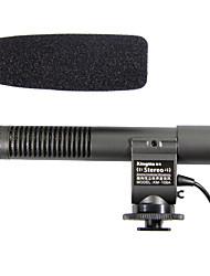 Kingma Stereo-Mikrofon Mikrofon für Canon T3i t2i 7d 5d 60d Nikon D3s d7000 dslr dv K7 K5