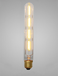Decorative Incandescent Bulbs , E14 / E26/E27 4 W 4 COB LM Yellow AC 220-240 V