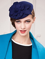 Women's Flower Girl's Wool Headpiece-Wedding Special Occasion Office & Career Outdoor Hats