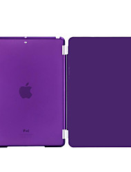 Novelty PU Leather with Hard Plastic Shell Smart Case Covers for iPad 4/iPad 3/iPad 2