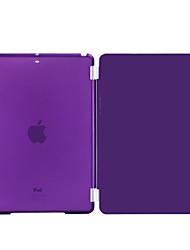 cuir PU nouveauté avec coque en plastique dur cas intelligente couvre pour iPad 4 / iPad 3 / iPad 2