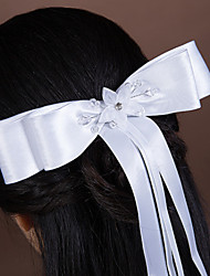 Women's Satin / Rhinestone / Tulle / Imitation Pearl Headpiece-Wedding / Special Occasion Hair Combs 1 Piece
